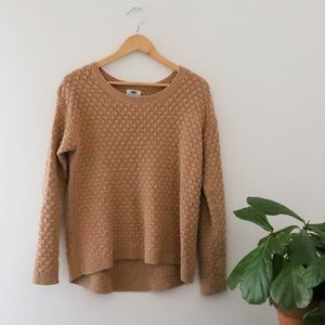Old Navy Tan Knit Sweater